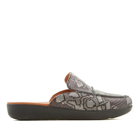 FitFlop Serene Python Print Leather Mule