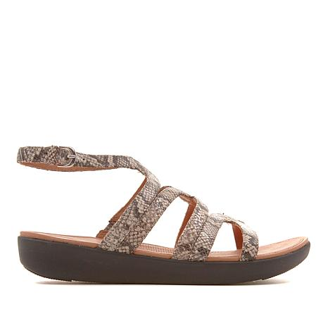 FitFlop Strata Leather Gladiator Sandal