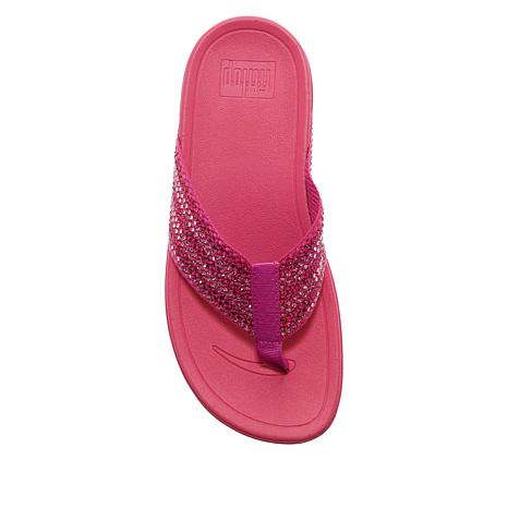 0c90a42dd FitFlop Surfa Crystal Toe Post Sandal - 8971010