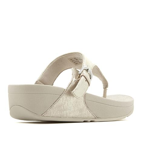c4e1601cb FitFlop The Skinny Leather Toe Post Sandal - 8628887