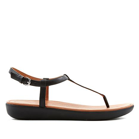 FitFlop Tia Leather Toe-Thong Sandal