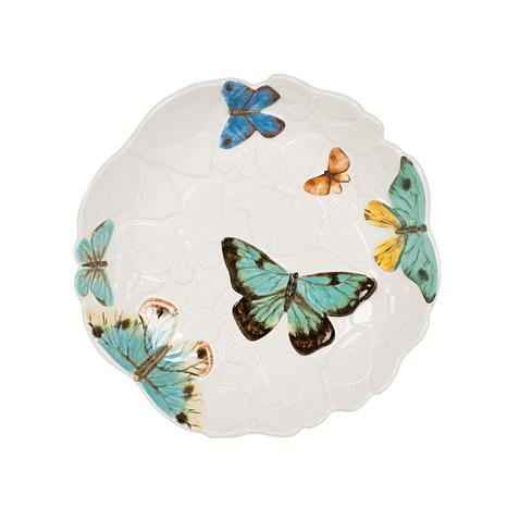 Fitz and Floyd Butterfly Fields Entree Bowl