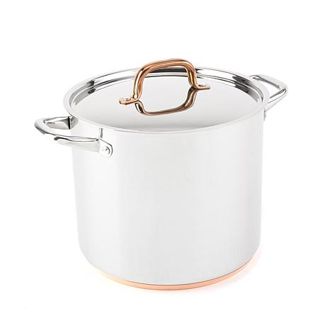 FOOD & WINE™ 12-Quart Stainless Steel Stock Pot