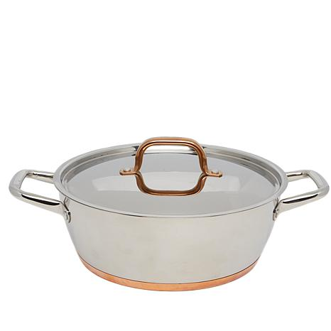 Food Network  Piece Stainless Steel Cookware Set