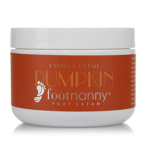 Footnanny Pumpkin Vanilla Foot Cream