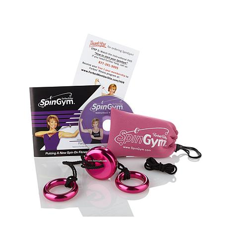 Forbes Riley SpinGym® Upper Body Workout System w/DVD
