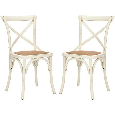 Franklin X Back Side Chair (Set Of 2)