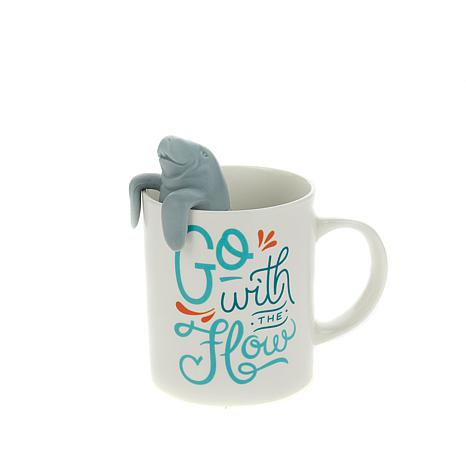 Fred and Friends Two for Tea Infuser & Mug Set- Manatea