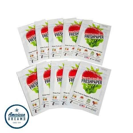 FreshPaper 10-pack Produce-Saver Sheets