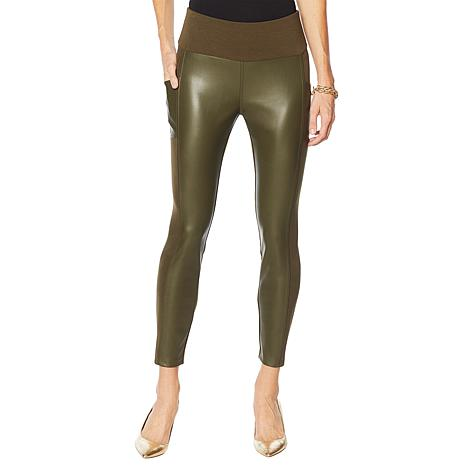 G by Giuliana Faux Leather and Ponte Legging