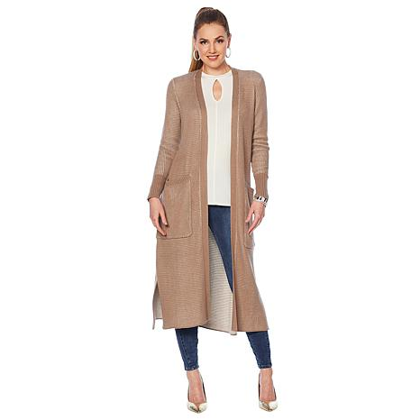 G by Giuliana Maxi Boyfriend Cardigan