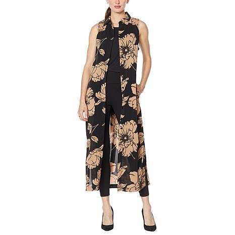 G by Giuliana Sleeveless Duster Dress