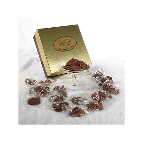 Giannios 1 lb. of Cashew Clusters in Signature Box