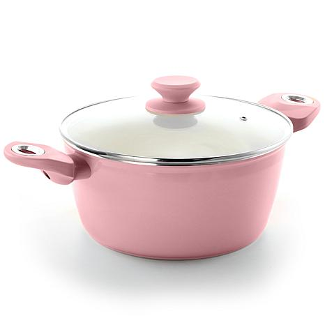 Gibson Coffee House 4.5 Qt. Dutch Oven in Lavender