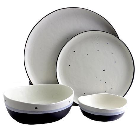 Gibson Elite Rhinebeck 16-piece Stoneware Dinnerware Set