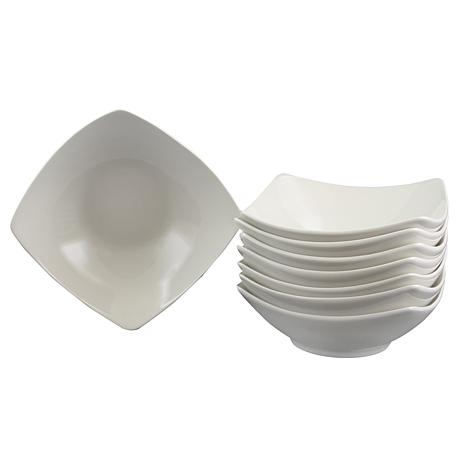 Gibson Home Simplicity Buffetware 8-piece  Bowl Set