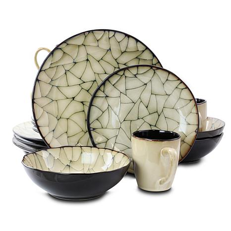 Gibson Zambezi 16-piece Dinnerware Set