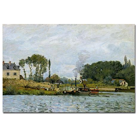 "Giclee Print - Boats at Bougival, 1873 19"" x 14"""