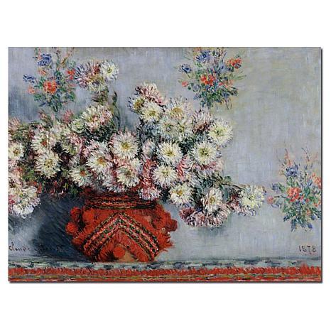 "Giclee Print - Chrysanthemums, 1878 32"" x 26"""