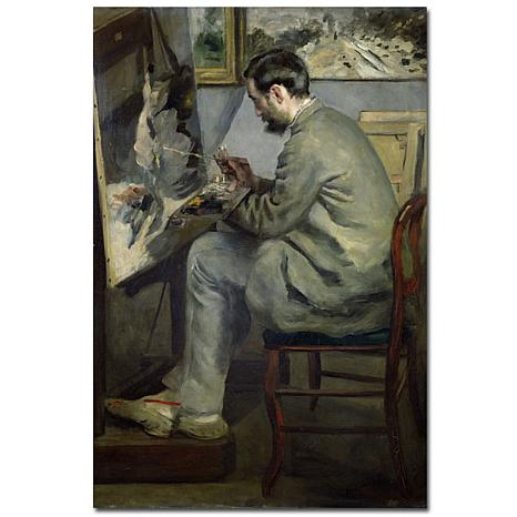 Giclee Print - Frederic Barille at His Easel 1867