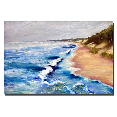 Giclee Print - Lake Michigan Beach with Whitecaps I