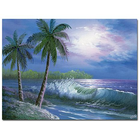 "Giclee Print - Moonlight in Key Largo 32"" x 24"""