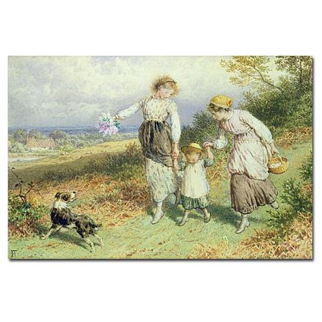 """Giclee Print - Returning from the Village 24"""" x 16"""""""
