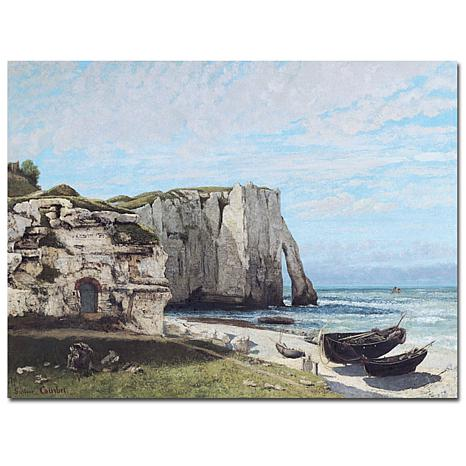 Giclee Print - The Cliffes at Etretat 1870