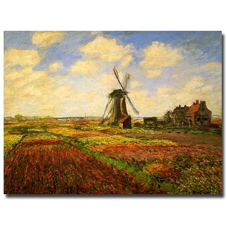 Giclee Print - Tulips in a Field