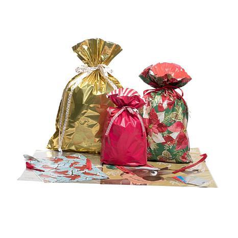 Giftmate 12 Piece Big Gift Bag With Tag Set 9865052 Hsn