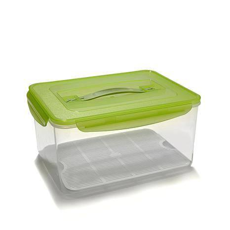 Go Fresh By Kinetic 237 Oz. Food Storage Container