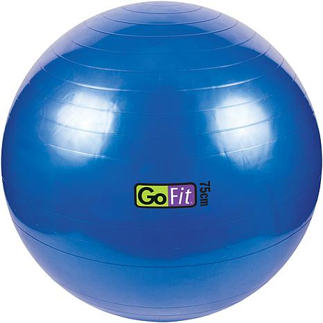 "GoFit Exercise Ball with Pump (29"" Blue)"