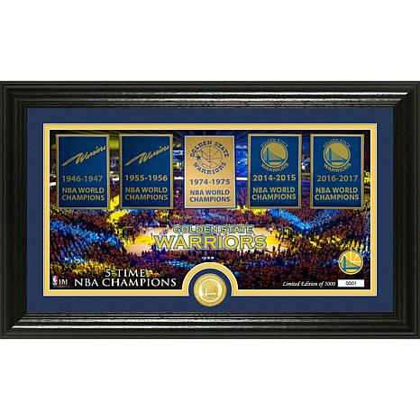 "Golden State Warriors ""Traditions"" Panoramic Bronze Coi"