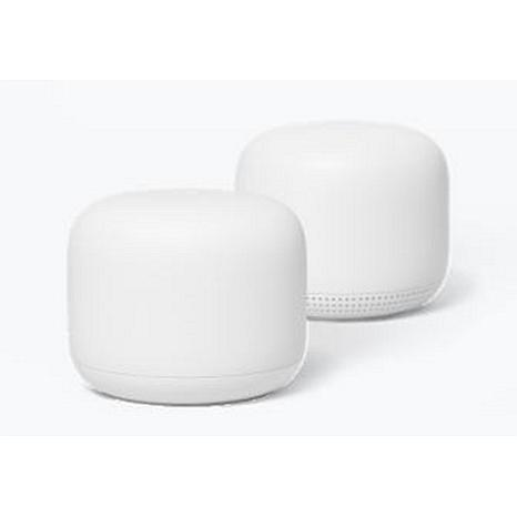 Google Nest Wi-Fi Router and Point - Snow