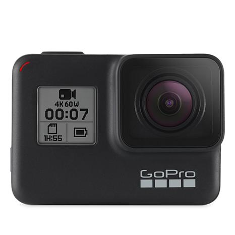 GoPro Hero 7 Black 4K 12MP Action Camera with Voice Control
