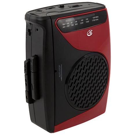 GPX Personal Cassette Player & Recorder with AM/FM Radio
