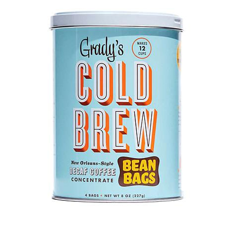 Grady's Cold Brew Coffee Bean Bags Decaf 2-pack Auto-Ship®