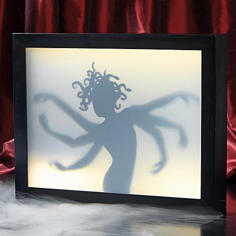 Grandin Road Six Arm Lady Shadow Box