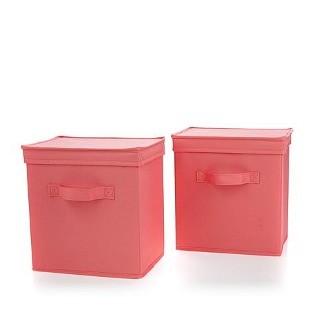 Hable Construction 2-pack Storage Bins with Lids