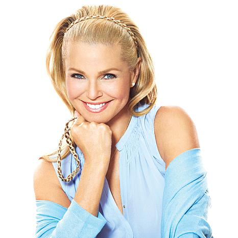 Hair2wear The Christie Brinkley Collection Double Braid Headband ... 725e4dd163e