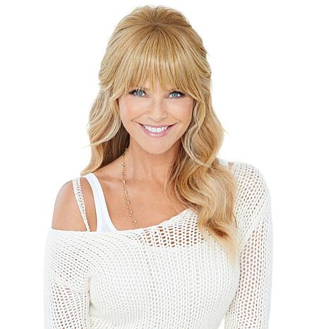 Hair2wear The Christie Brinkley Collection Natural Fringe Bangs 10071302 Hsn