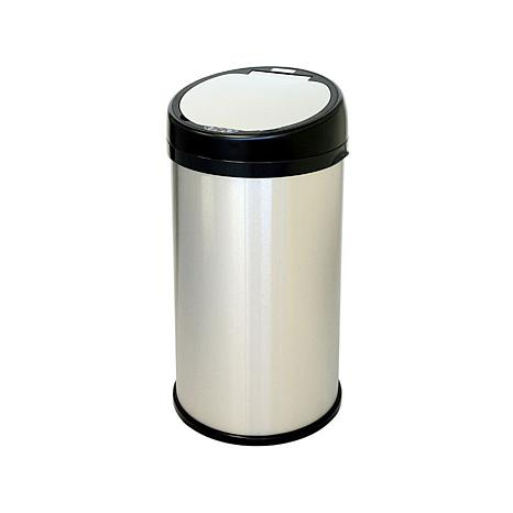 halo 13 Gallon Stainless Steel Sensor Trash Can