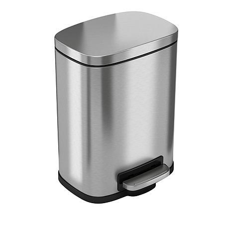 halo™ 1.3-Gallon Step Pedal Trash Can