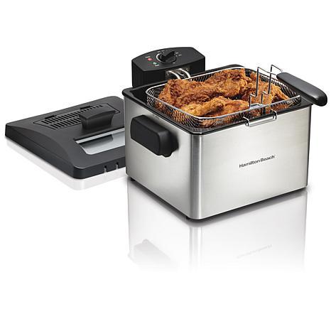 Hamilton Beach Professional-Style Deep Fryer 35042 - 8314096 | HSN