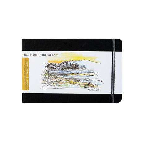 Hand Book Journal Co. Travelogue Drawing Journals -Landscape Ivory/Blk