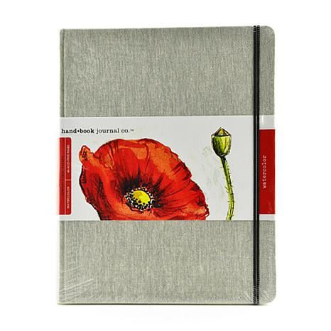 Hand Book Journal Co. Travelogue Watercolor Portrait Journal 10.5x8.25