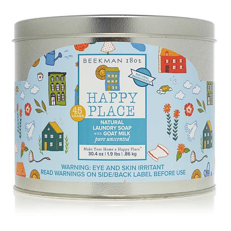 Happy Place 45-Load Goat Milk Laundry Soap - Pure