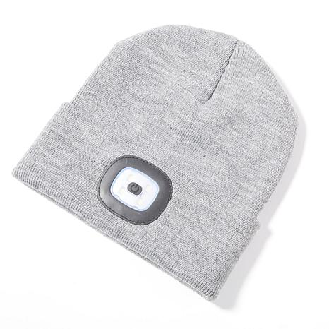 Headlightz Rechargeable LED Knit Beanie with Light