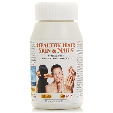 Healthy Hair, Skin & Nails - 100 Capsules - 8170551 | HSN