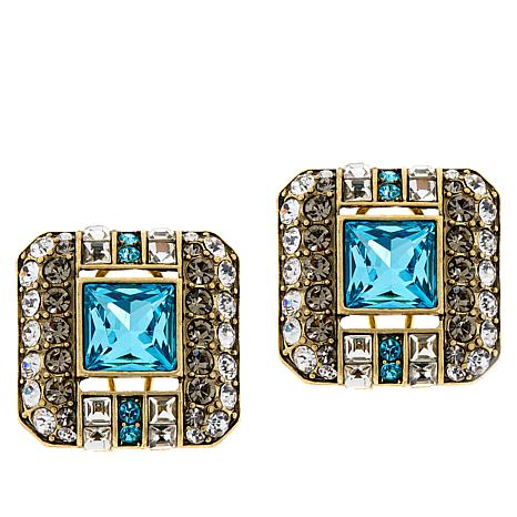 "Heidi Daus ""A Class Act"" Crystal Earrings"